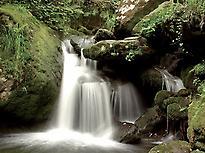 Cascades sur le Mandeo et l´Eume