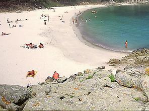 Playas naturistas en las Rías Baixas