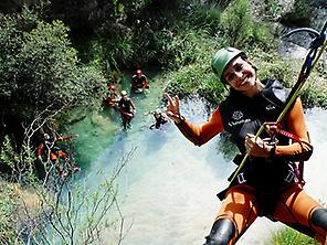 Canyoning for beginners - Level 1