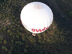 Hot air balloon flight Madrid