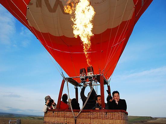 Hot air balloon flight Madrid