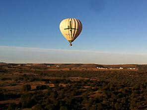 Hot air balloon flight at Toledo