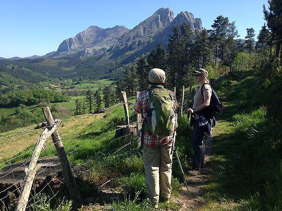Elegant mountains in Duranguesado