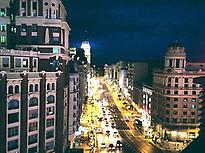 Madrid iluminado