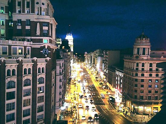 Illuminated Madrid