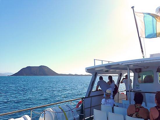 Boat trip to Isla de Lobos