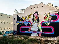 Street art in Madrid