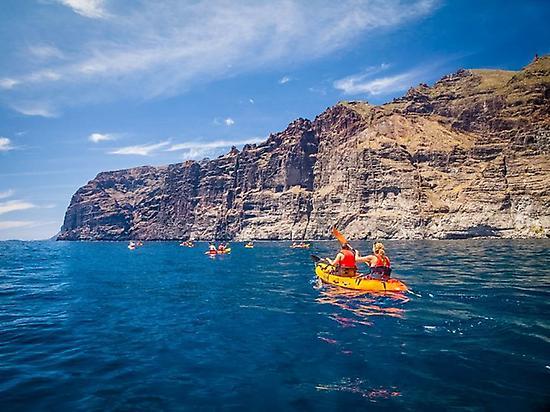 Kayak in Los Gigantes