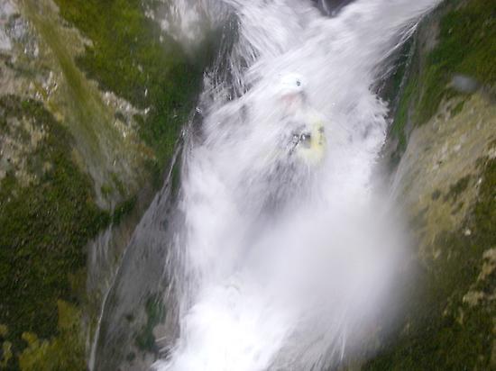 Descent of ravines