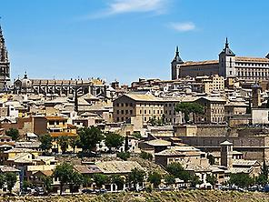 Toledo - Cathedral and Alcazar