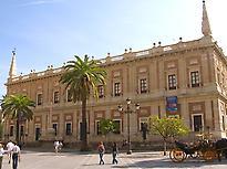 Visit to Archivo de Indias of Seville