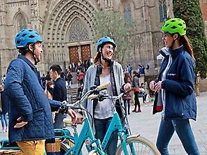 E-Bike Tour in Sarrià of Barcelona