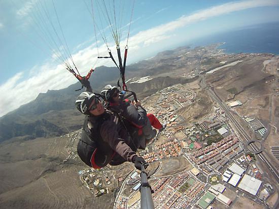 Flight Biplaza in Adeje (Tenerife)