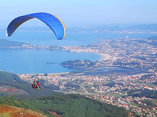Paragliding initiation course