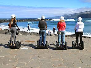Segway en el Puerto de la Cruz -Tenerife