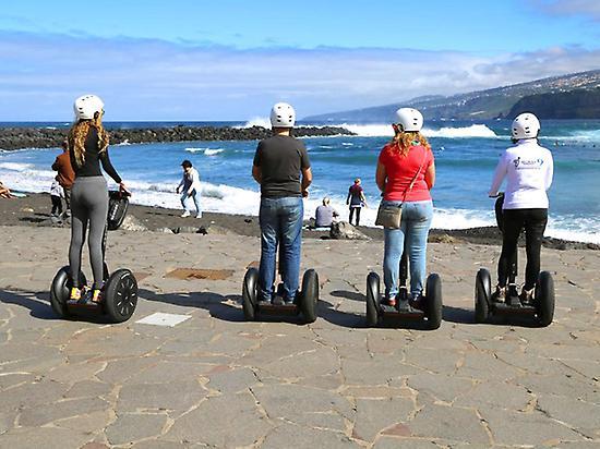 Segway in Puerto de la Cruz (Tenerife)