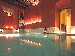 Arab baths + aromatherapy