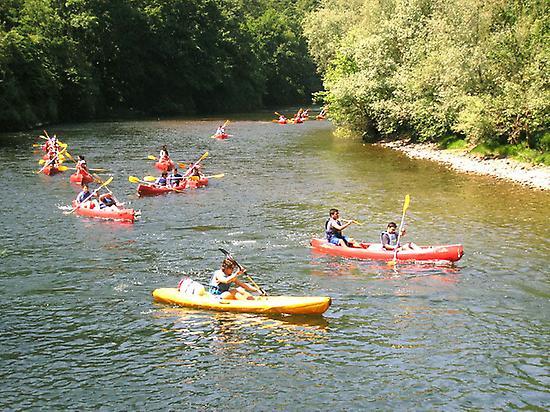 Descent of the river Sella: canoe