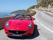 Barceloneta y playa en un Ferrari