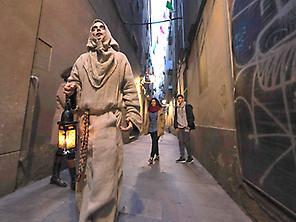 Theatrical route the Terrorist Barcelona