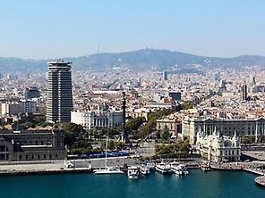 Valencia y Barcelona desde Madrid
