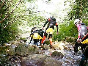 Canyoning in Cantabria