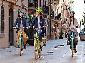 Montjuic E-Bike Tour Guiado por Barcelon
