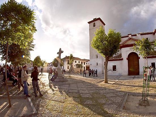 Alhambra de Granada desde Sevilla
