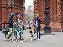 Gaudi E-Bike Guided Tour of Barcelona -