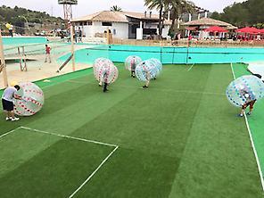 Bubble Soccer Match Sitges