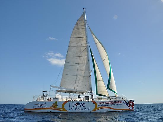 Catamaran en Papagayo