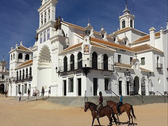 Horse-back riding in El Rocio (Huelva)