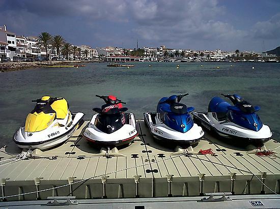 Motos de agua Menorca