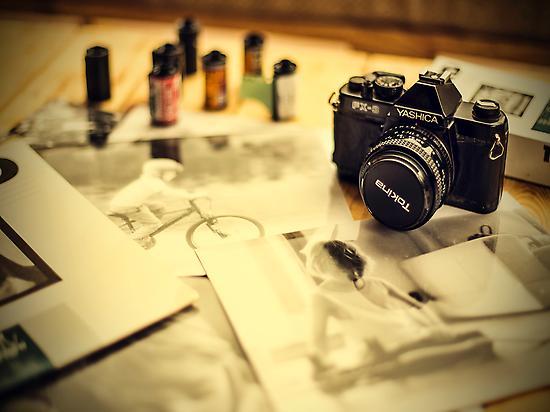 Material taller fotográfico