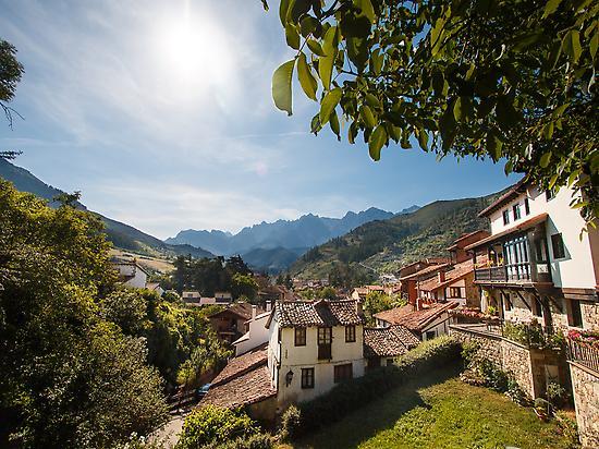 Village of Potes, Cantabria