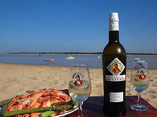 Manzanilla wine