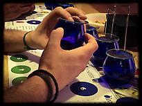 Imagen de las copas de cata de aceite