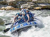 Rafting, Gállego river with UR Pirineos
