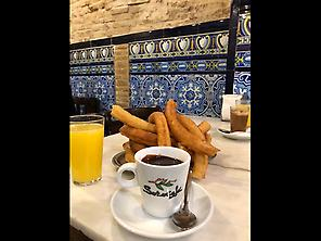 Breakfast in Sevilla