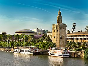 River cruise along the Guadalquivir