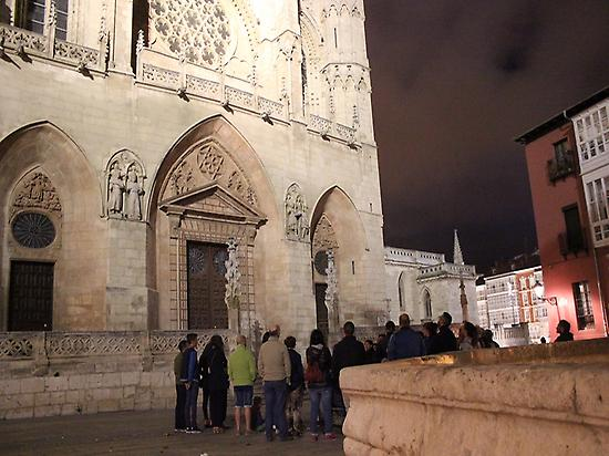 Group in front of the Cathedral