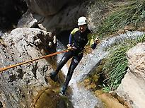 Canyoning in El Duende