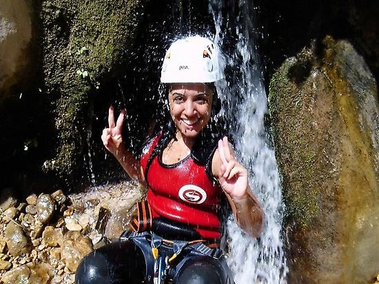 Canyoning in L