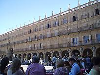Plaza Mayor de Salamanca.