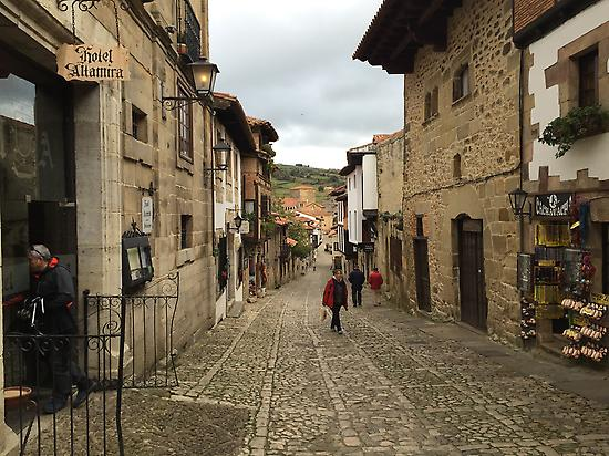 Santillana del Mar. Spain's Green Coast.