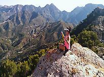 Sierra de Almijara, Frigiliana.