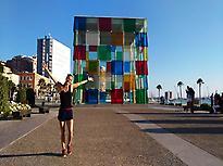 Centre Pompidou in Muelle Uno