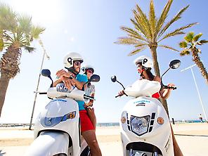 Scooter rental in Tenerife