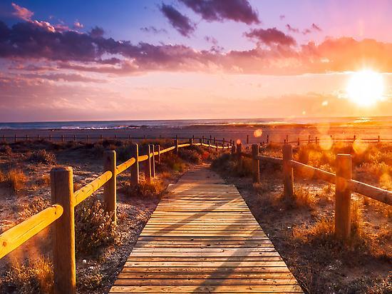 Las Salinas beach Cabo de Gata-Nijar