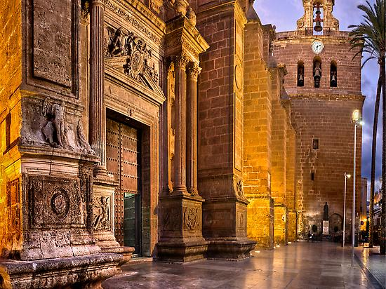 Entrada Plaza Catedral Almería